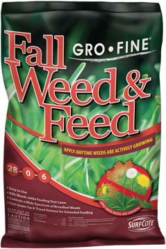 Fall Weed and Feed