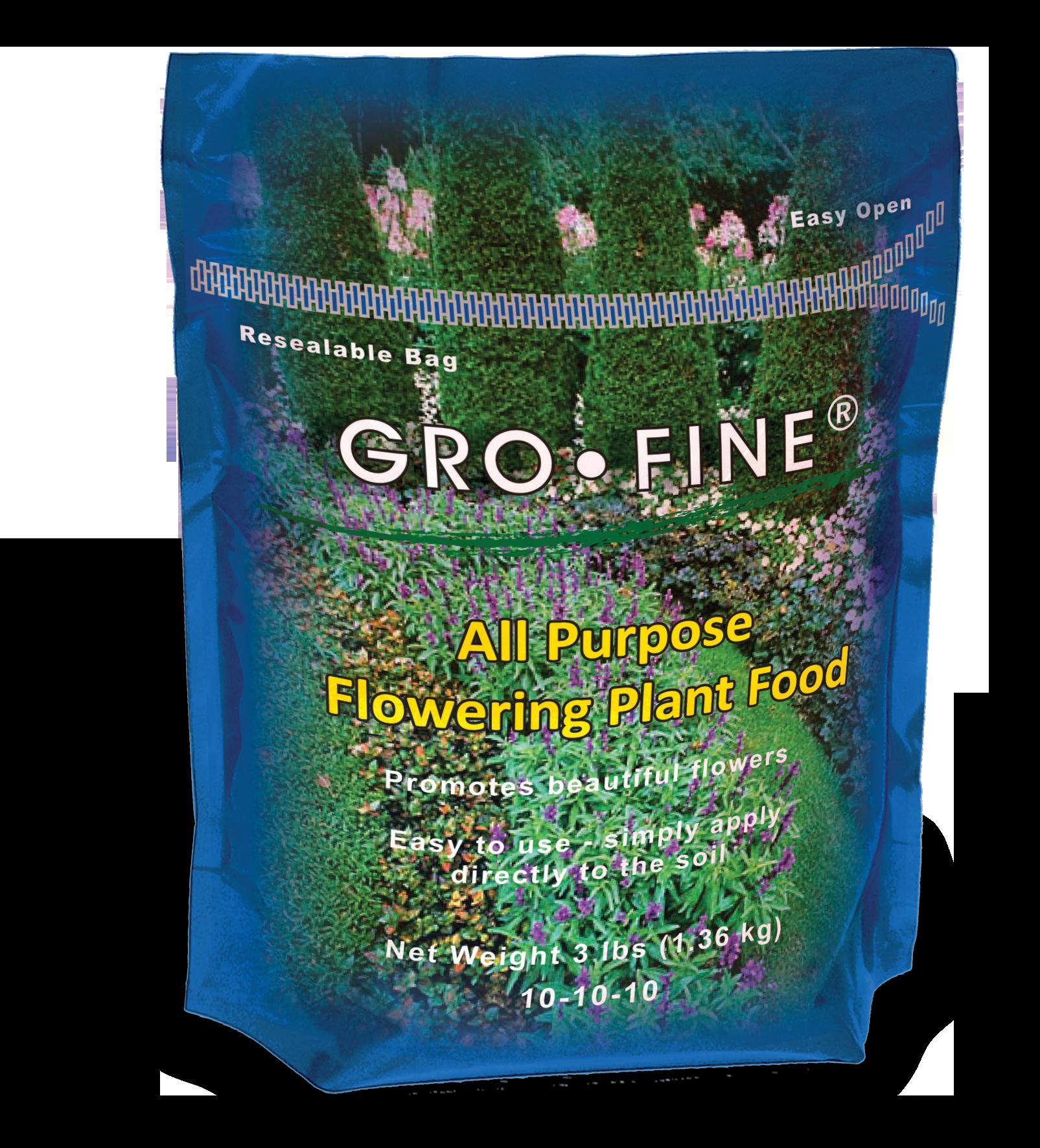 Gro Fine Flowering