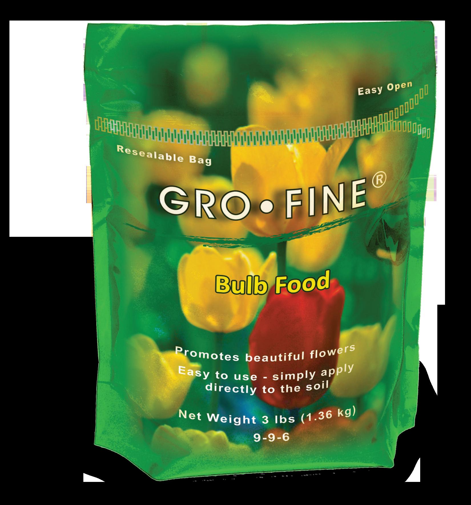 Gro Fine Bulb Food