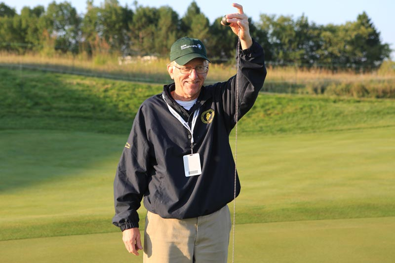 The data-driven golf course superintendent
